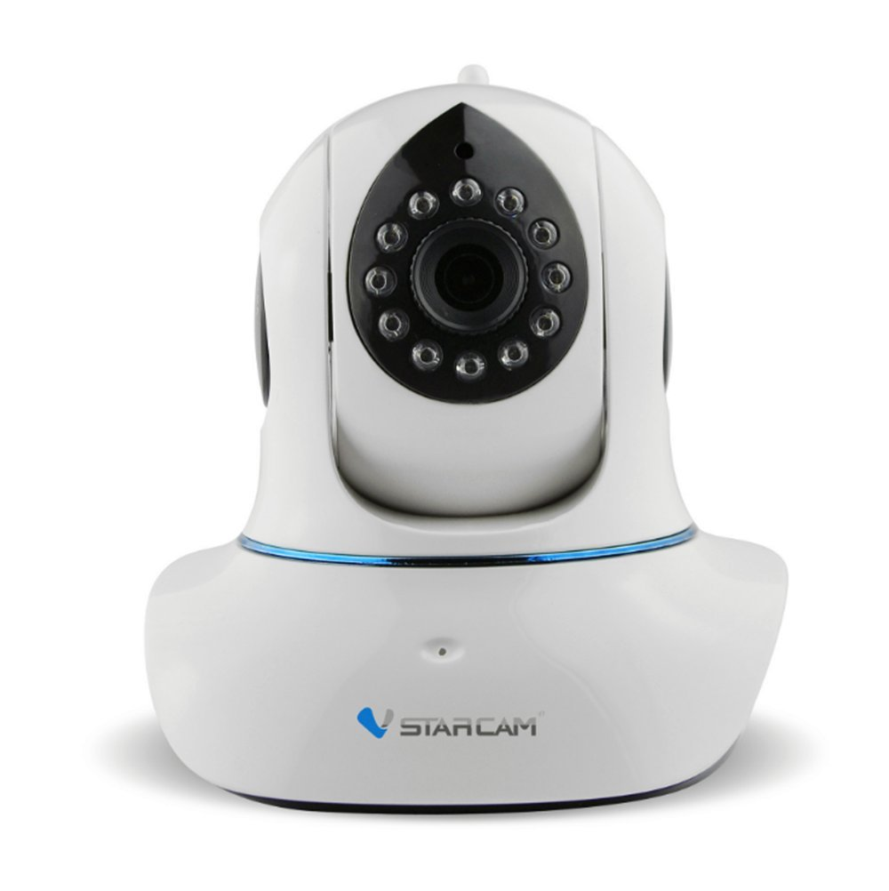 TuoP@ Vstarcam C7838WIP Wireless Ip Camera Support 64g Micro Sd Card Night Vision with Two-way Audio Remote Control 3.6mm Lens Wifi Built-in Wifi Module to Perform Wireless Monitoring CCTV Camera by VStarcam