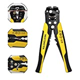 Professional 8-Inch Heavy Duty Self Adjusting Wire Stripper Cutter Cable Crimper Automatic Plier Terminal Stripping Tool Industrial Tools