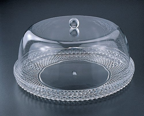 cake plate with dome cake plate w dome set 12 quot acrylic in the uae see 2273