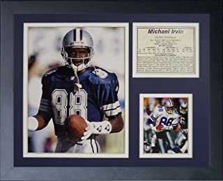 Legends Never Die Michael Irvin Framed Photo Collage, 11x14-Inch by Legends Never Die