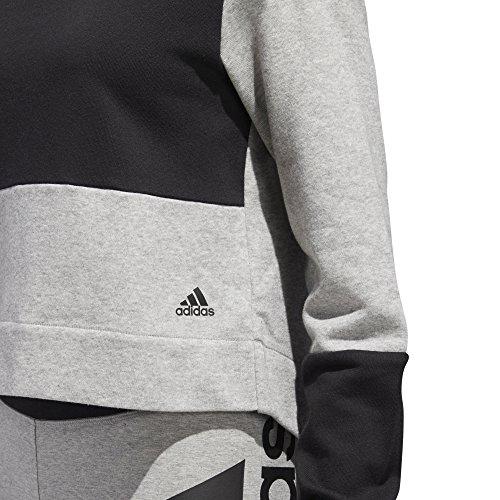 Giacca cappuccio donna Adidas da S2s Nero Grigio con SSprBnq6