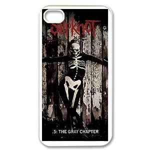 DIY Stylish Printing Slipknot Cover Custom Case For iPhone 4,4S MK0Q433374