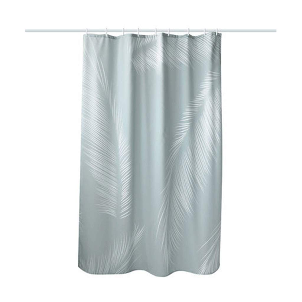 Curtain Creative Nordic Style Partition Curtain Thick Waterproof Bathroom Curtain Bathroom Shower Curtain Shower Equipment (Size : XXL)