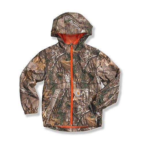 ' Hooded RealTree Rain Jacket,Realtree Xtra,X-Large-18/20 ()