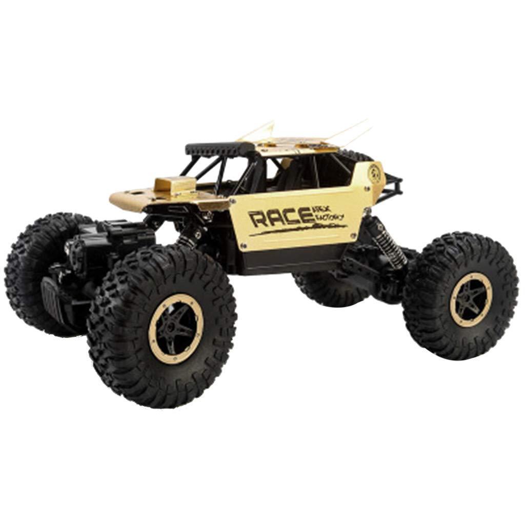 EnjoCho RC Car Radio Remote Control Off Road All-Wheel-Drive High Speed RC Racing Buggy Car (Gold)