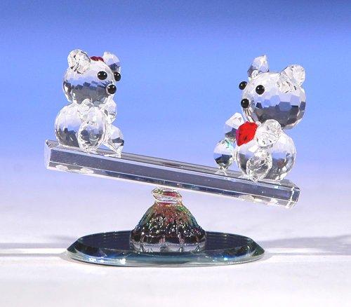 Love Glass Bear (CRYSTAL WORLD