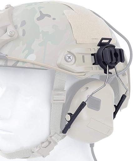 Tactical Helmet Headset Adapter for COMTAC Headset Fast Helmet Side Rail