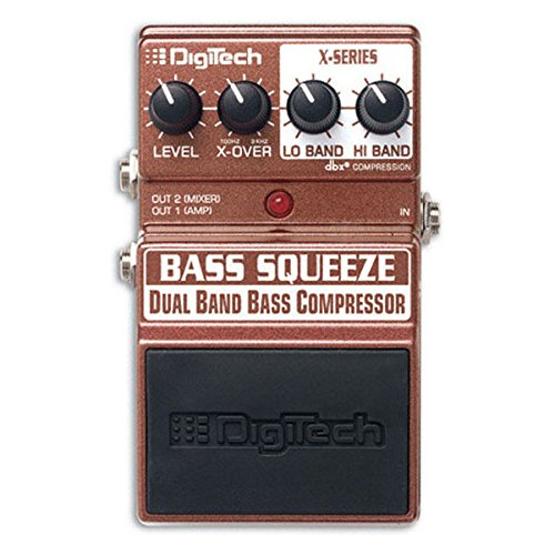 Digitech XBS Bass Multi-Band Compressor Pedal