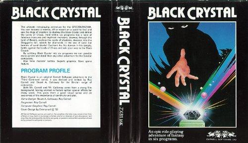 Black Crystal - Sinclair - Cassette - ZX-81