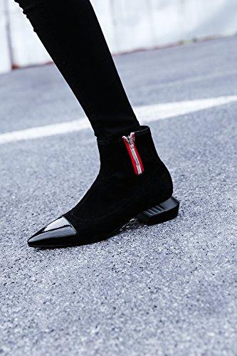 hexiajia Damen Stiefel