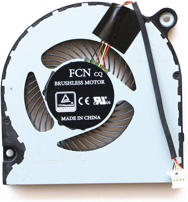 DXCCC Ventilateurs de processeur FOR Acer Aspire A314-31 A315-21 A315-31 A315-51 A515-51 A515-51G Ventilateurs de processeur DFS541105FC0T FJMQ DC5V 0.5A