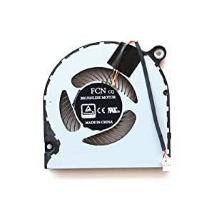 Replacement CPU Cooling Fan Compatible with Acer Aspire A314-31 A315-21 A315-31 A315-51 A515-51 A515-51G Series Laptop P/N: DFS541105FC0T FJMQ