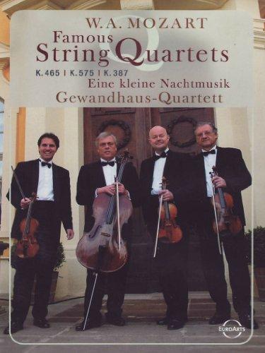 Price comparison product image Mozart - Famous String Quartets / Gewandhaus Quartet