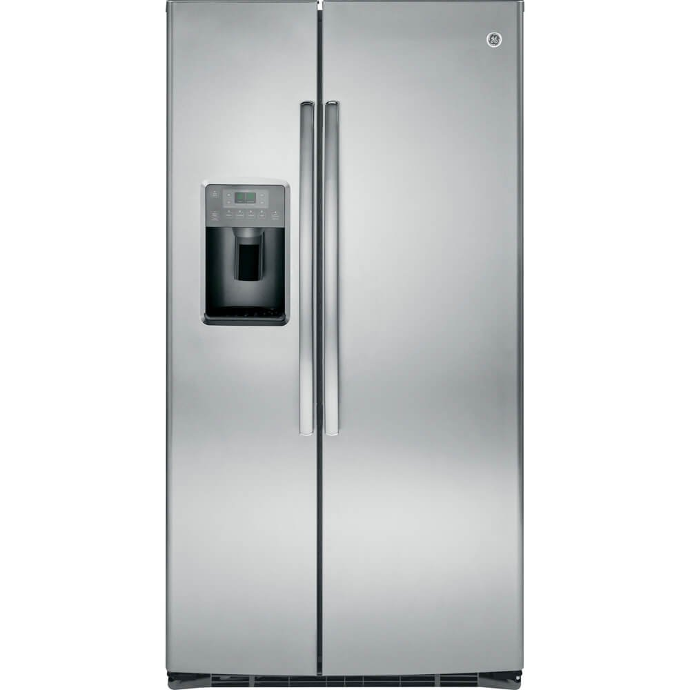 Amazon.com: GE GSE25HSHSS 25.4 Cu. Ft. Stainless Steel Side-By-Side  Refrigerator - Energy Star: Appliances