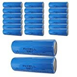 3.6V 3600mAh ER17505 Lithium Thionyl Chloride(Li SOCL2) Battery 20PC
