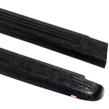 Wade 72-00731 Truck Bed Rail Caps Black Ribbed Finish without Stake Holes for 2001-2004 Toyota Tacoma 4 Door Set of 2