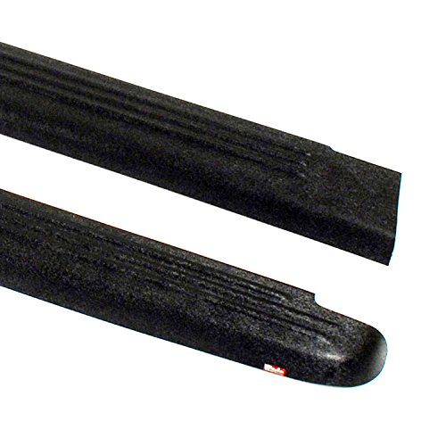 Wade 72-00181 Truck Bed Rail Caps Black Ribbed Finish without Stake Holes for 2004-2012 Chevrolet Colorado & GMC Canyon Standard Cab Extended Cab (Set of 2) ()