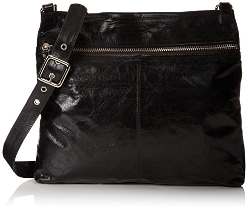 HOBO Vintage Lorna Cross-Body Handbag,Black,one size
