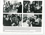 Nixon-Director Oliver Stone-Anthony Hopkins-Camera-8x10-B&W-VG