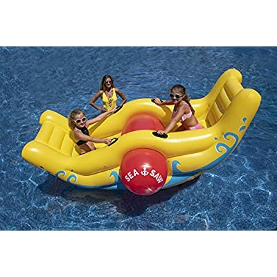 Swimline Sea-Saw Rocker: Toys & Games