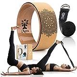 5 Colors MORA Yoga Wheel - Strongest & Most Comfortable Dharma Yoga Prop...