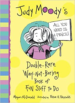 Book Judy Moody's Double-Rare Way Not-Boring