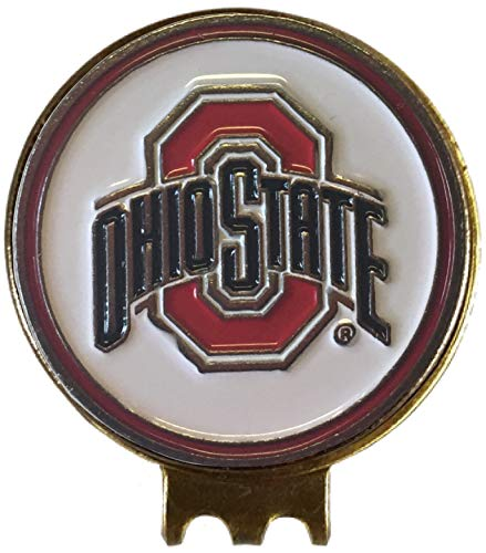 The Ohio State Buckeyes Golf Ball Marker ON HAT Clip Great Gift IDEA OSUBIG 10