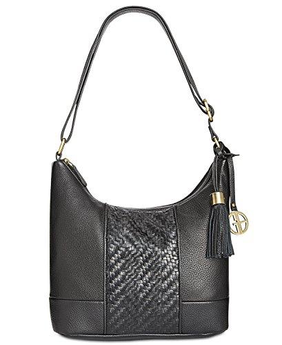 - Giani Bernini Small Double-Zip Hobo Handbag