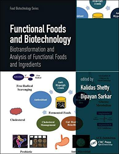 Functional Foods and Biotechnology: Biotransformation and Analysis of Functional Foods and Ingredients (Food Biotechnology Series)