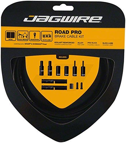Jagwire Road Pro Brake Cable Kit Black, Shimano/SRAM