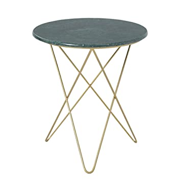 Runder Tisch Metall.Amazon De Runder Tisch Kleiner Runder Tisch Marmor