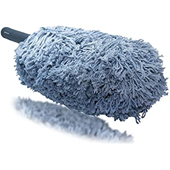 Microfiber Car Duster, 24 Inch For Car Exterior Interior Cleaning, SimpleSweet Dust Meister, Model No. California Car Duster Original Brush X, Part No. Duster for Car