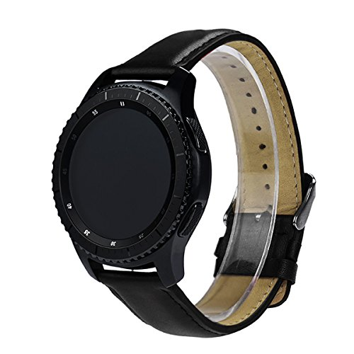 dreaman-replacement-leather-watch-strap-band-for-samsung-gear-s3-classic-black