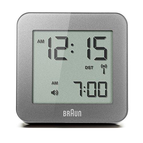 Braun BNC009GY RC Digital Quartz Alarm