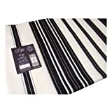 "Wool Chabad ""Lubavitcher Rebbe"" Tallit with Black Stripes For Sale"