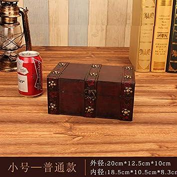 SQbjshaop Cajas Retro para Cajas Antiguas, Joyas, Cajas de Maquillaje, Cajas de Accesorios