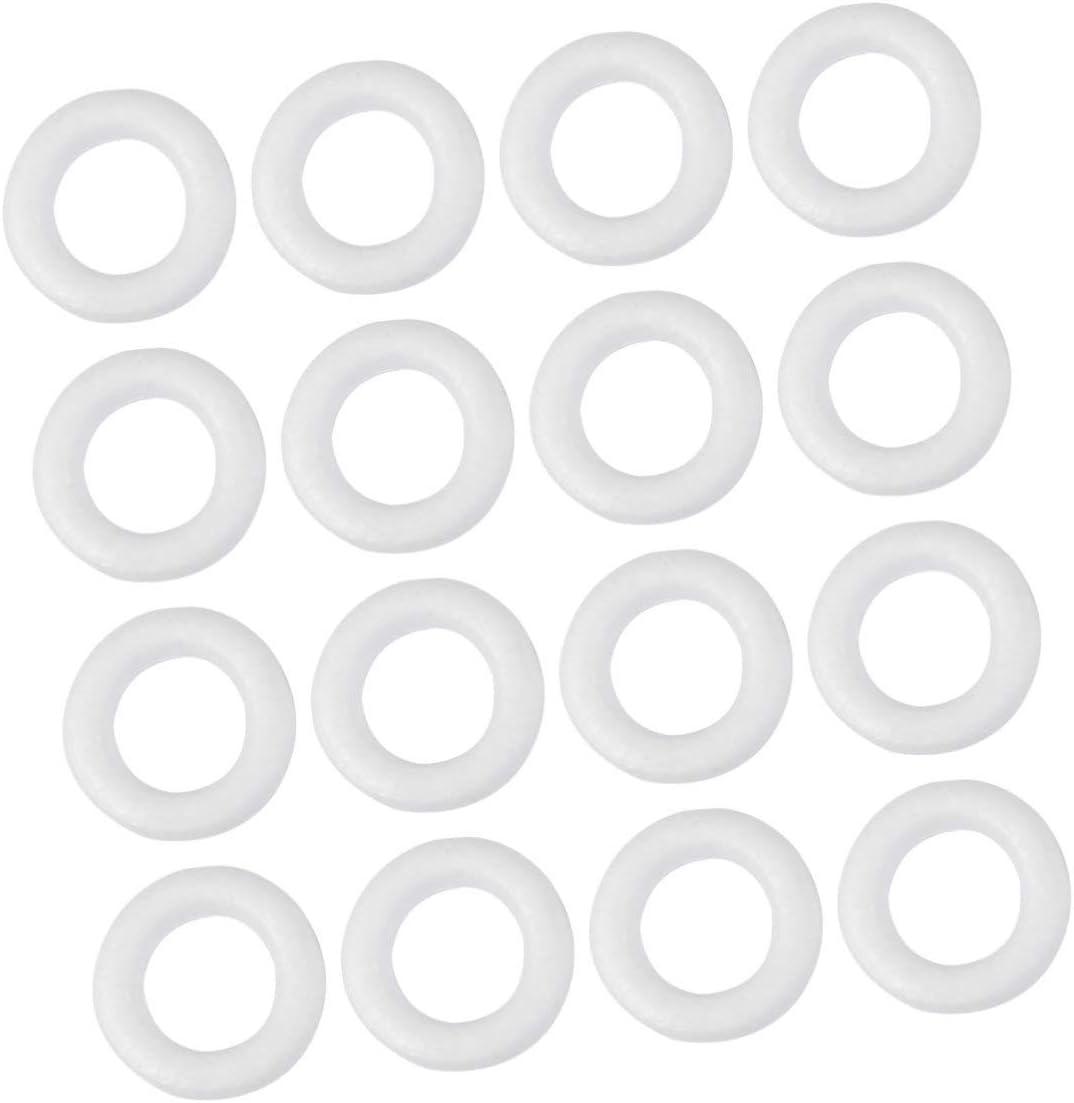 Healifty Styropor Polystyrol Modellierung Schaum Polystyrol Hund Formen Wei/ß Handwerk Schaum B/älle f/ür DIY Rose Welpen Blume Dekor Weihnachten Herzst/ück Handwerk Kunst Liefert
