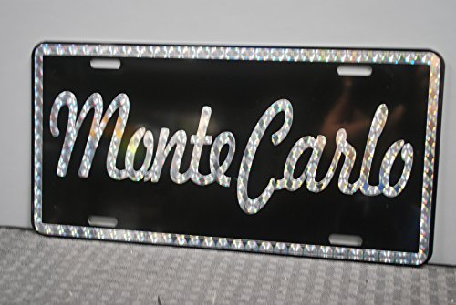 Motown Automotive Design Retro 1970'S Prism Monte Carlo Metal License Plate Chevy 6 X 12 TAG Custom Classic Muscle CAR HOT Rod Antique Museum Collection Novelty Gift Sign