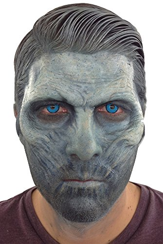 Ice King Costumes (Halloween Mask- Ice King Half Face Foam Latex Mask -Scary Mask)