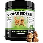 PetHonesty GrassGreen Grass Burn Spot Chews for Dogs - Dog Pee Lawn Spot Saver Treatment Caused by Dog Urine - Cranberry, Apple Cider Vinegar, DL-Methionine Grass Treatment Rocks - 90 Chew Treats 11