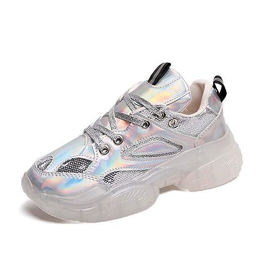 Plata Talla 11 zapatos para correr Zapatos deportivos para