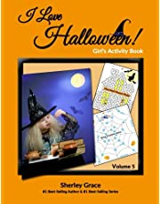 I Love Halloween! Girl's Activity Book