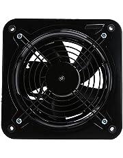 Shanrya Ventilador de ventilación, Extractor de 30x30x14cm para Dormitorio, Sala de Estar, Cocina para Edificio de fábrica, Oficina