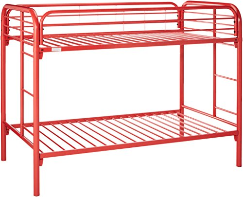 Donco Kids 4501-3-TTRD Series Bed, Twin, Red -