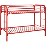 Donco Kids 4501-3-TTRD Series Bed, Twin/Twin, Red