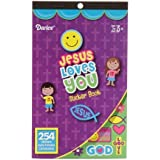 Darice 254 Piece Religious Sticker Book- Jesus Loves You (Pack of 1)