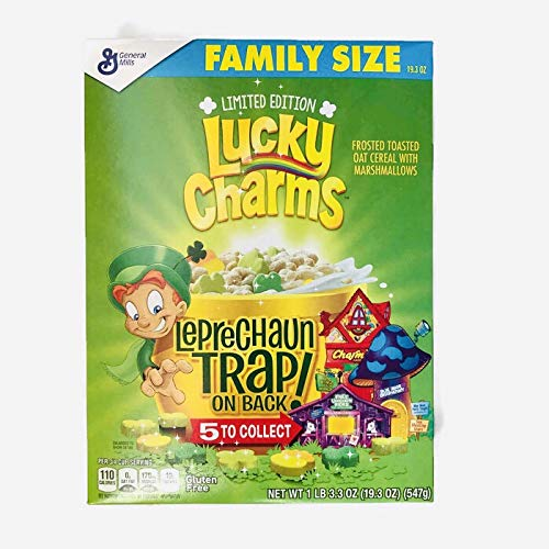 (Lucky Charms Limited Edition! Net WT 1 LB 3.3 OZ!!!!)
