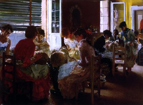 Robert Frederick Blum Venetian Lace Makers (also known as Venetian Lace Workers) - 21.05