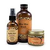 ELEVATED (by TAYLOR'S) Ladies Bestie Kit (Woo Woo Wash, Muffin Mist, Punani Paste) (Balanced (Wash, Mist) Unscented (Paste))