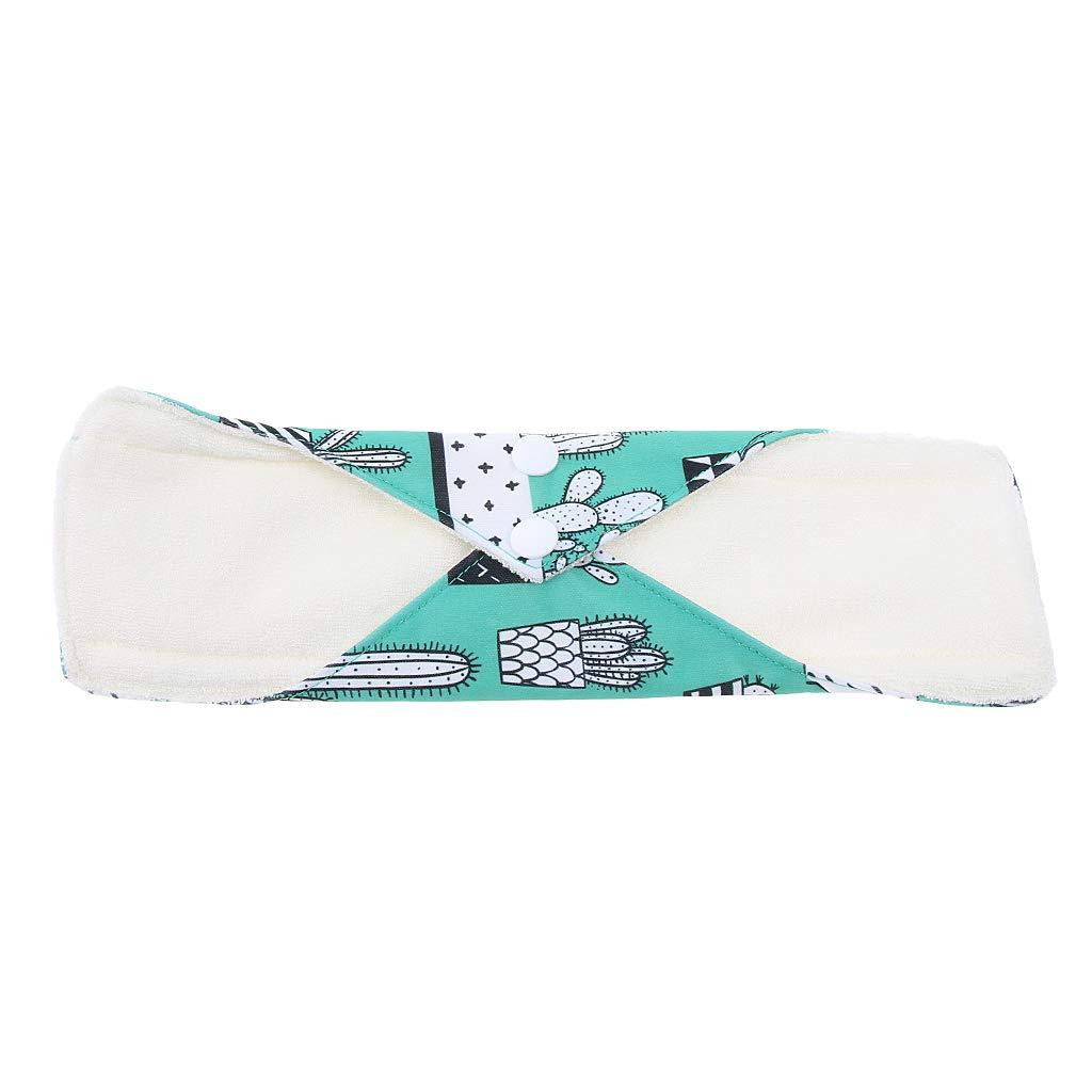 F Fityle Señora Señora Resuable Paño De Algodón Toalla Sanitaria Toalla Menstrual Panty Pad: Amazon.es: Bebé